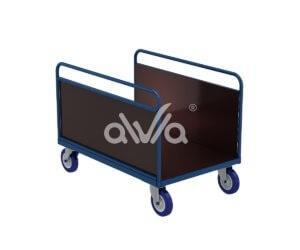 Wózek platformowy DT ze ściankami bocznymi